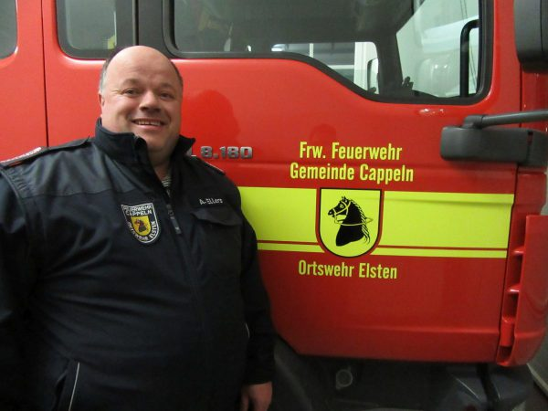 stellvertretender Ortsbrandmeister Andreas Ellers