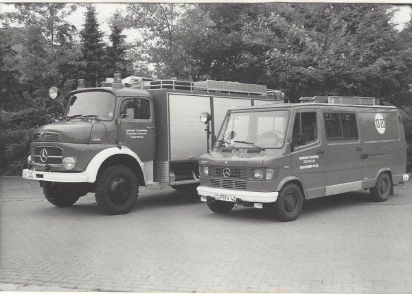 Fahrzeuge der FF Elsten 1987