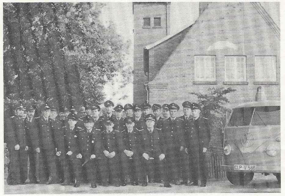 Gruppenfoto FF Elsten 1975
