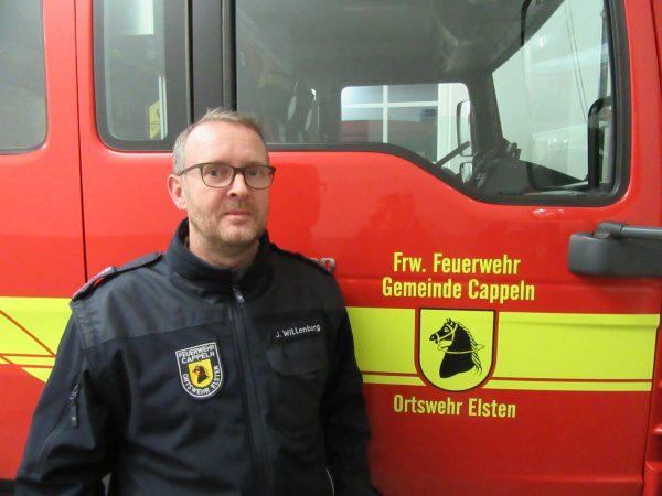 Ortsbrandmeister Josef Willenborg